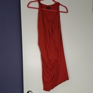 Sexy red body hugging S dress Torn by Ronny Kudo